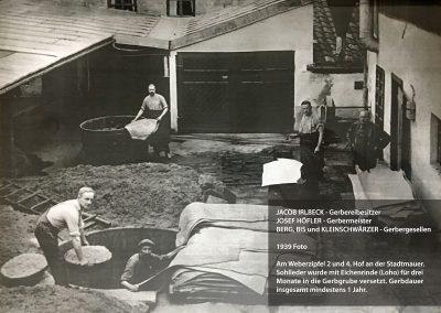 Hof Gerberei Irlbeck 1939