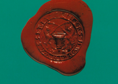 Siegel der Wasserburger Lederer Zunft